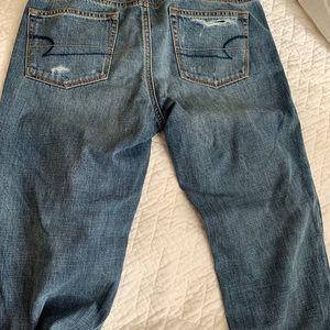 Boy crop American eagle jeans